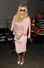 KESHA at Timo Weiland Fall 2015 Fashion Show in New York