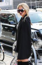 KESHA Leaves Her Hotel in New York