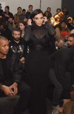 KIM KARDASHIAN at Robert Geller Fall 2015 Fashion Show in New York