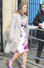 KIMBERLEY WALSH Leaves ITV Studios in London 1302