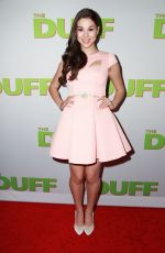 KIRA KOSARIN at The Duff Premiere in Hollywood