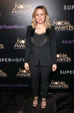 KRISTEN BELL at 2015 Noble Awards in Beverly Hills