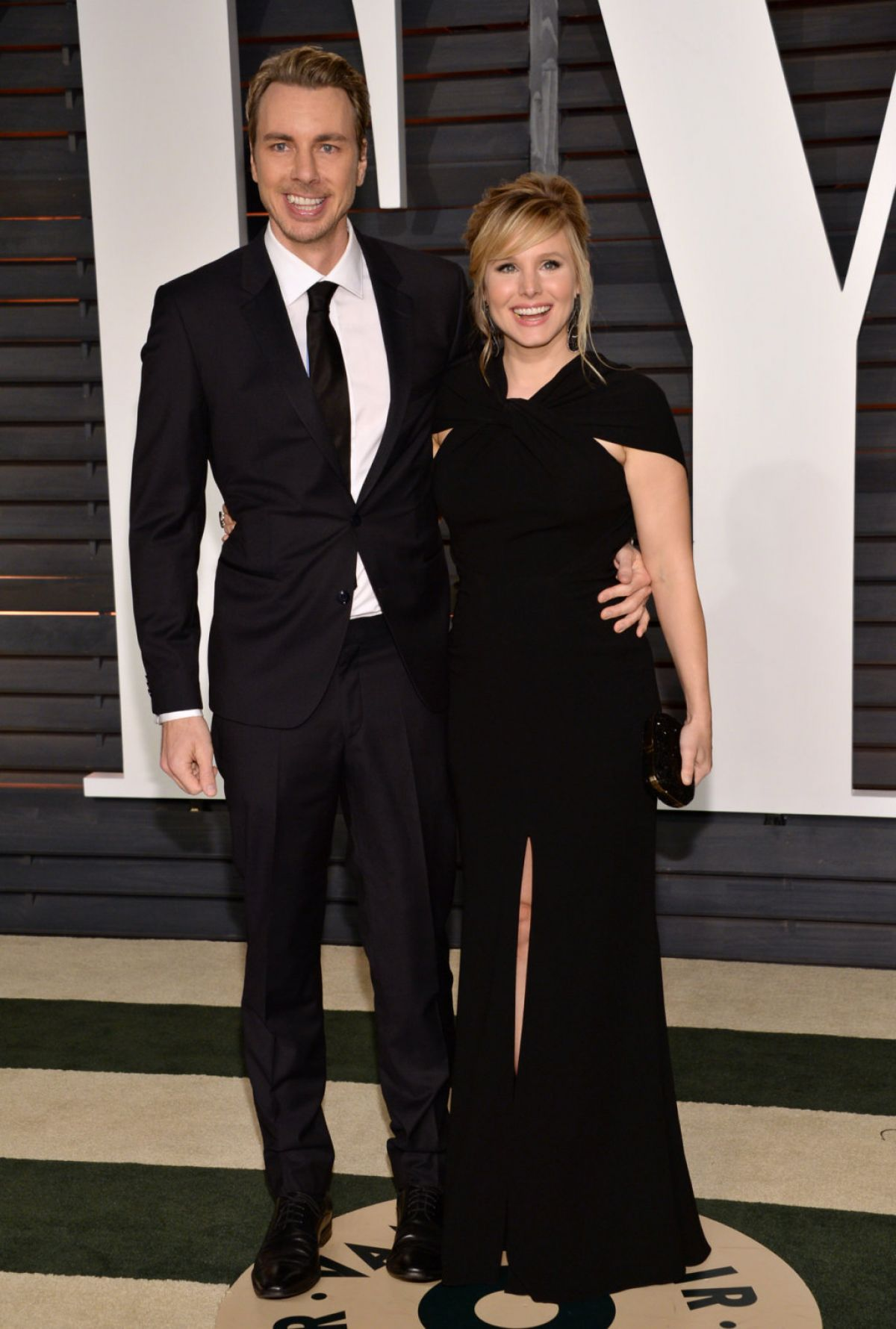 KRISTEN BELL at Vanity Fair Oscar Party in Hollywood