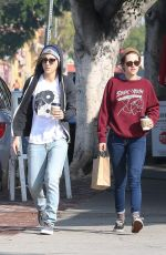KRISTEN STEWART and Alicia Cargile Out for Coffe in Los Angeles  1802