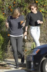 KRISTEN STEWART and Alicia Cargile Out for Coffee in Los Angeles
