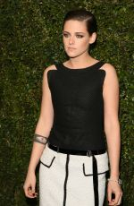 KRISTEN STEWART at Chanel and Charles Finch Pre-oscar Dinner in Los Angeles