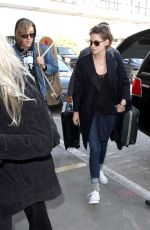 KRISTEN STEWART Catching a Flight at LAX Airport 0402