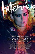 KRISTEN STEWART in Interview Magazine, March 2015 Issue