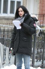 KRYSTEN RITTER on the Set of A.K.A. Jessica Jones in New York 502