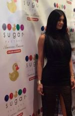 KYLIE JENNER at Sugar Factory Opening in Chicago