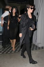 KYLIE JENNER in Tight Dress Out and About in West Hollywood