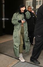 KYLIE JENNER Leaves Trump Hotel in New York