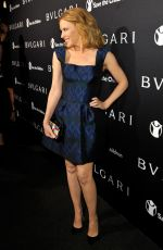 KYLIE MINOGUE at Bvlgari and Save the Children stop. think. give. Pre-oscar Gala in Beverly Hills