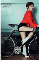 KYLIE MINOGUE in Tatler Magazine, Russia March 2015 Issue