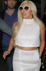 LADY GAGA Arrives at LAX Airport in Los Angeles 1702