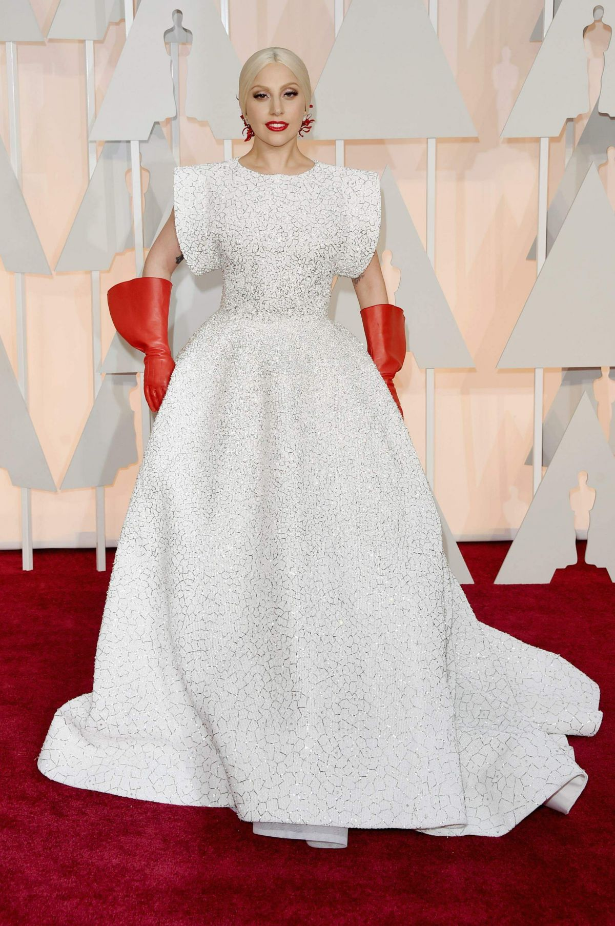 LADY GAGA at 87th Annual Academy Awards at the Dolby Theatre in Hollywood