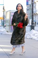LADY GAGA in Leaves Her Apartment in New York 1302