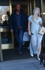LADY GAGA Leaves Her Hotel in New York 2802
