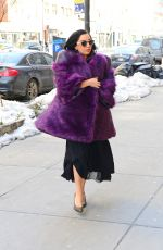 LADY GAGA Out and About in New York 1602
