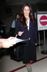 LANA DEL REY Arrivies at LAX Airport in Los Angeles 0102