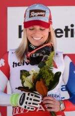 LARA GUT with Bronze Medal in Vail
