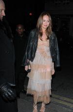 LAURA HADDOCK at Harvey Weinstein's Bafta Dinner in London