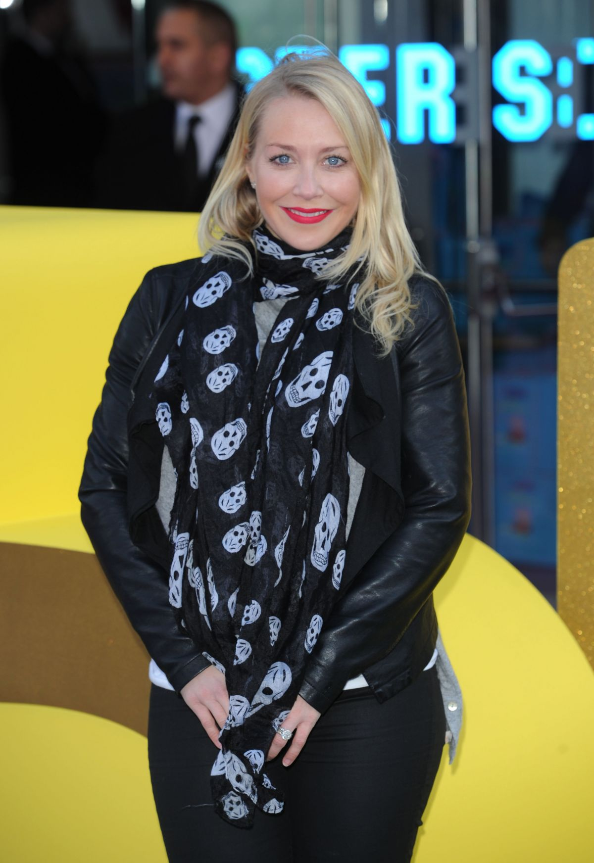 LAURA HAMILTON at Peppa Pig: The Golden Boots Premiere in London