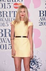 LAURA WHITMORE at Brit Awards 2015 in London