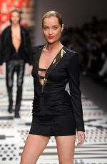 LAURA WHITMORE at Fashion for Eelief Charity Fashion Show in London