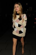 LAURA WHITMORE at Giles Deacon Fashion Show in London