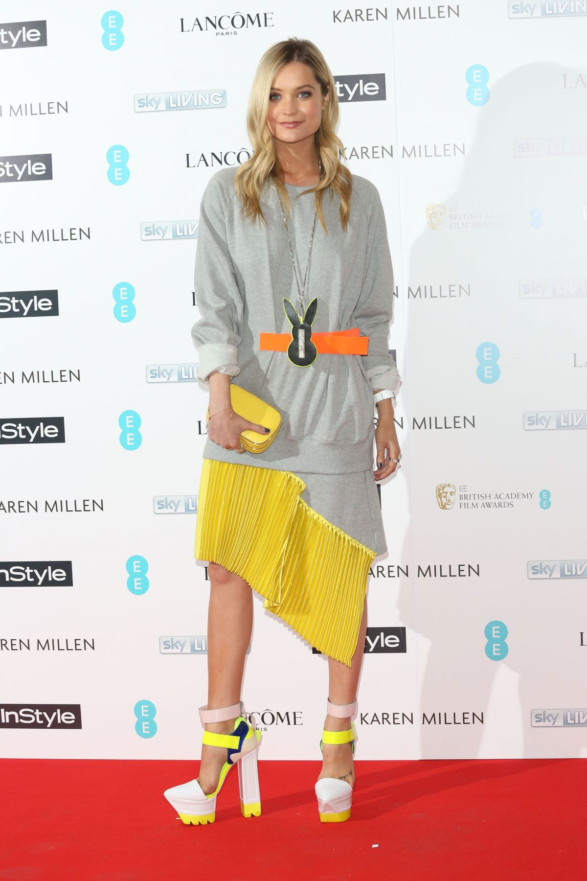 LAURA WHITMORE at Instyle Pre-bafta Party in London