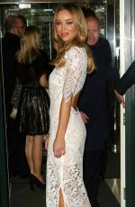 LAUREN POPE at IDF Winter Carnival Fundraiser in London