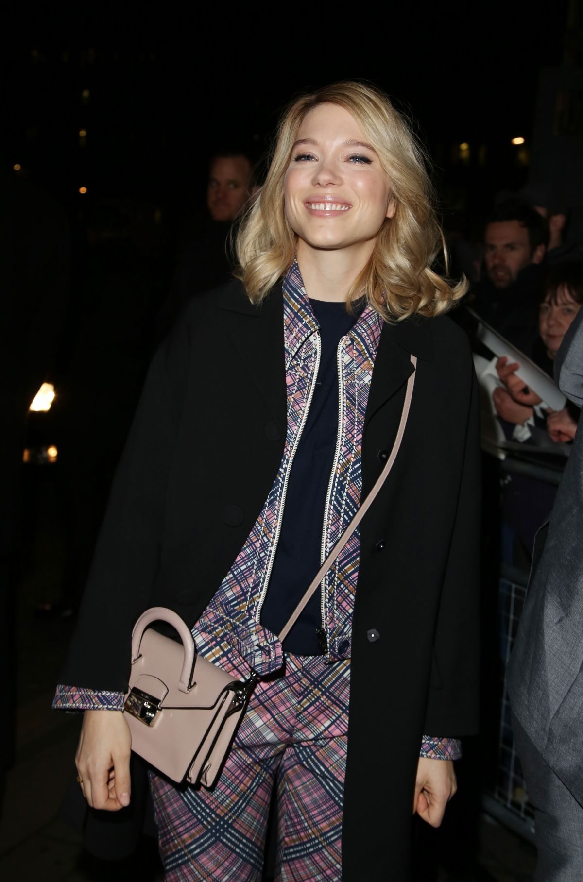 LEA SEYDOUX at Charles Finch and Chanel Pre-bafta Party in London