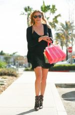 LEANN RIMES Shoping at Victoria Secret at the Westfield Topanga Mall in Coanoga Park