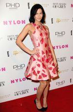 LEIGH LEZARK E! Fashion Police and Nylon Fifty Shades of Fashion Event in New York