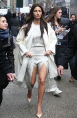LILY ALDRIDGE Arrives at 2015 Sports Illustrated Swimsuit Issue Celebration in New York