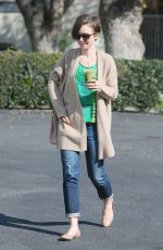 LILY COLLINS in Jenas Out and About in West Hollywood 2602