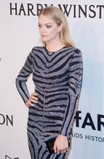 LINDSAY ELLINGSON at 2015 Amfar Gala in New York