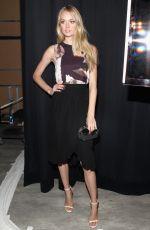 LINDSAY ELLINGSON at Rebecca Minkoff 2015 Fashion Show in New York
