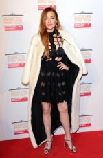LINDSAY LOHAN at World's First Fabulous Fund Fair in London