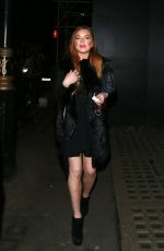 LINDSAY LOHAN Night Out in London 1702