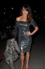LIZZIE CUNDY at British Heart Foundation's Roll Out the Red Ball in London