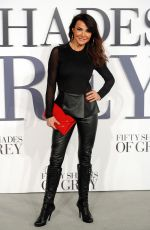LIZZIE CUNDY at Fifty Shades of Grey Premiere in London