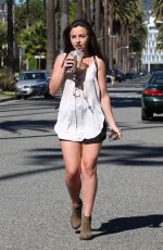 LOUISA LYTTON Out and About in Hollywood 1302