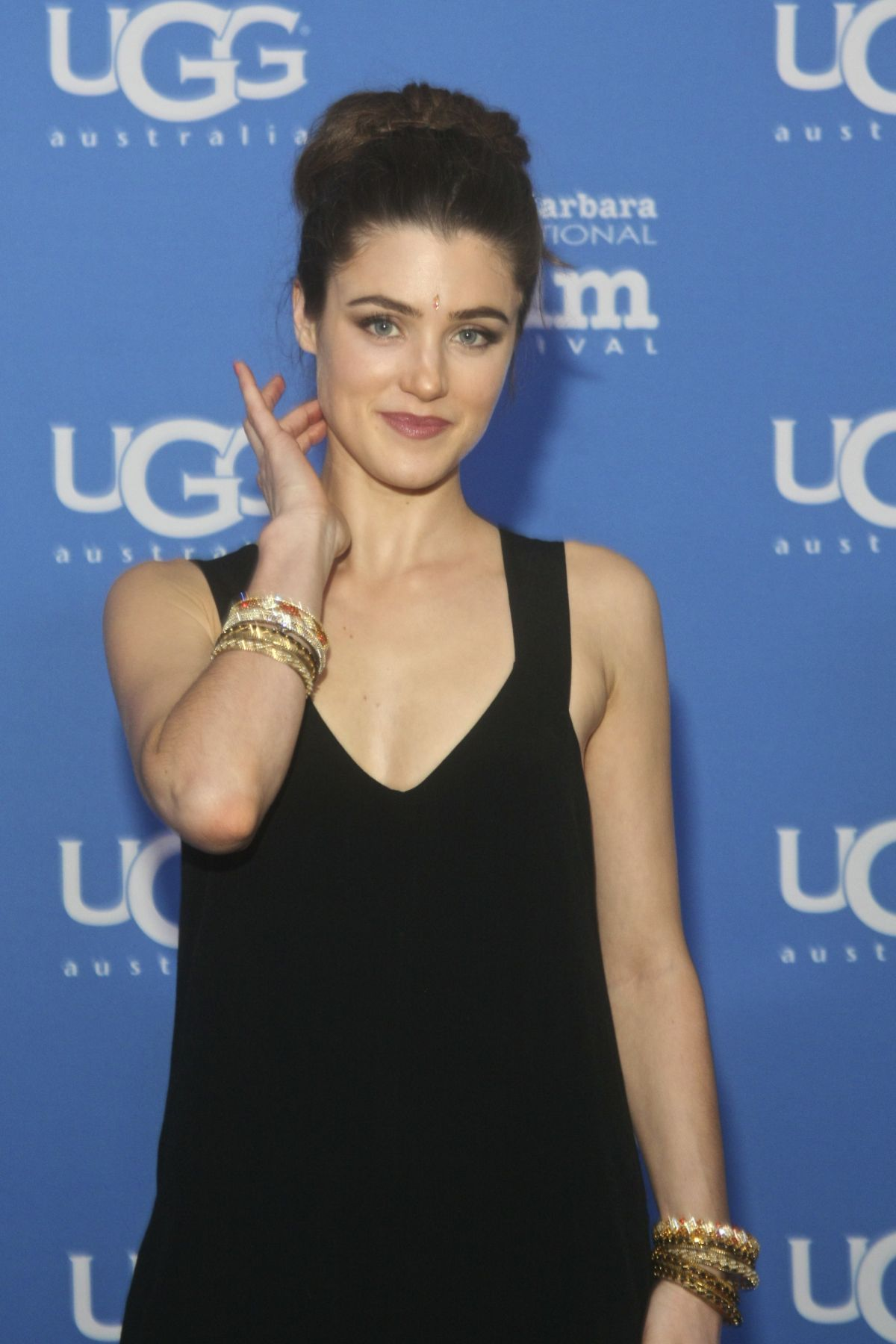LUCY GRIFFITHS at 2015 Santa Barbara International Film Festival