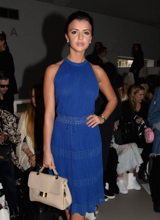 LUCY MECKLENBURGH at Bora Aksu Fashion Show