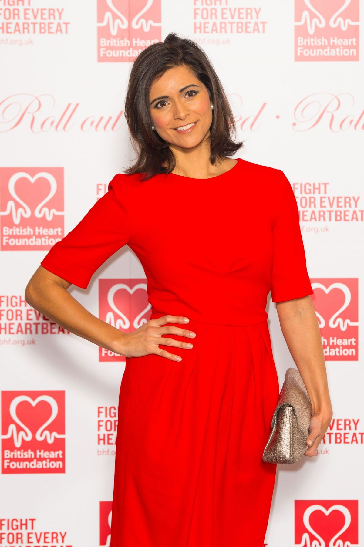 lucy verasamy archives hawtcelebs lucy verasamy at british heart foundation s roll out the red ball in london
