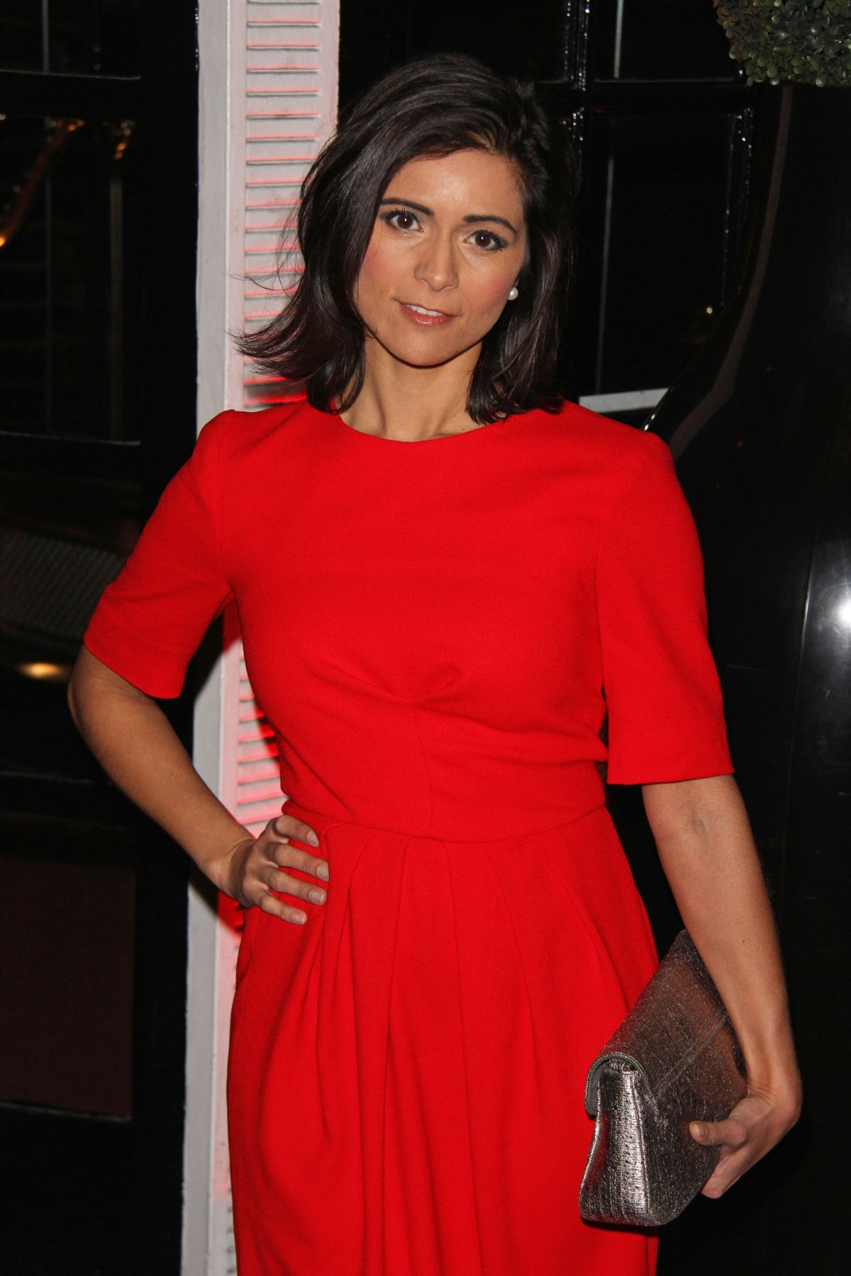 Lucy Verasamy At British Heart Foundation S Roll Out The