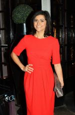 LUCY VERASAMY at British Heart Foundation's Roll Out the Red Ball in London