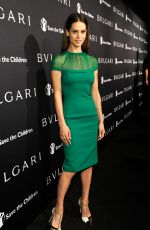 LYNDSY FONSECA at Bvlgari and Save the Children stop. think. give. Pre-oscar Gala in Beverly Hills